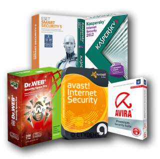 avast!, Avira, Dr.Web, ESET NOD 32, Kaspersky Keys 10 January 2013