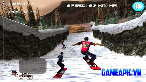Tải game SnowBoard Racing v1.0 APK cho Android