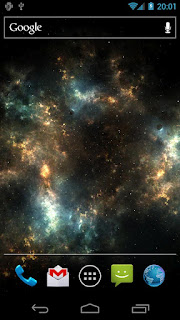 Shadow Galaxy Live Wallpaper