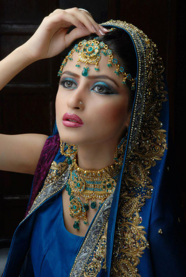 hairstyles for long hair 2013 winter on Bridal Make Over n Jewelry Photoshoot by Sajjal Ali www.fashion ...