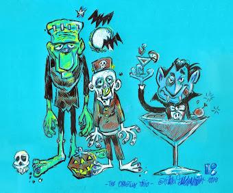 Rick's art portfolio page