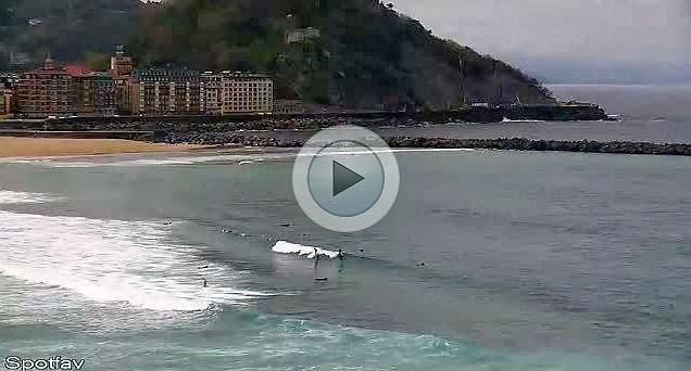 webcam playa de la zurriola donosti san sebastian