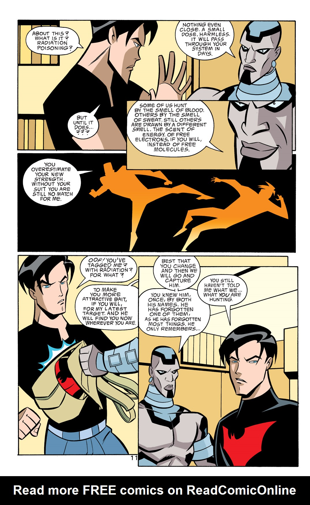 Batman Beyond [II] Issue #18 #18 - English 12