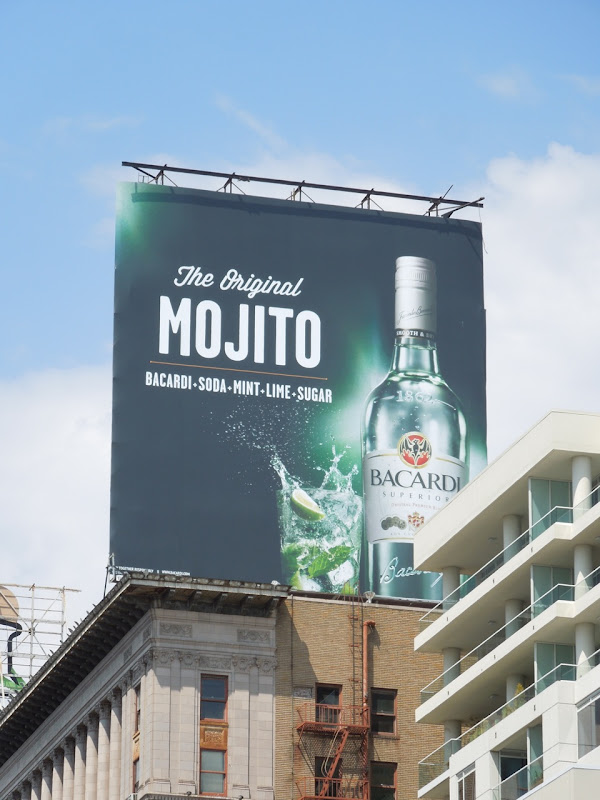 Bacardi Original Mojito billboard