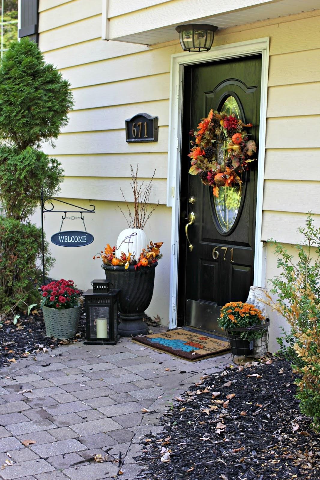 Golden boys and me fall front door an update for Front door update ideas
