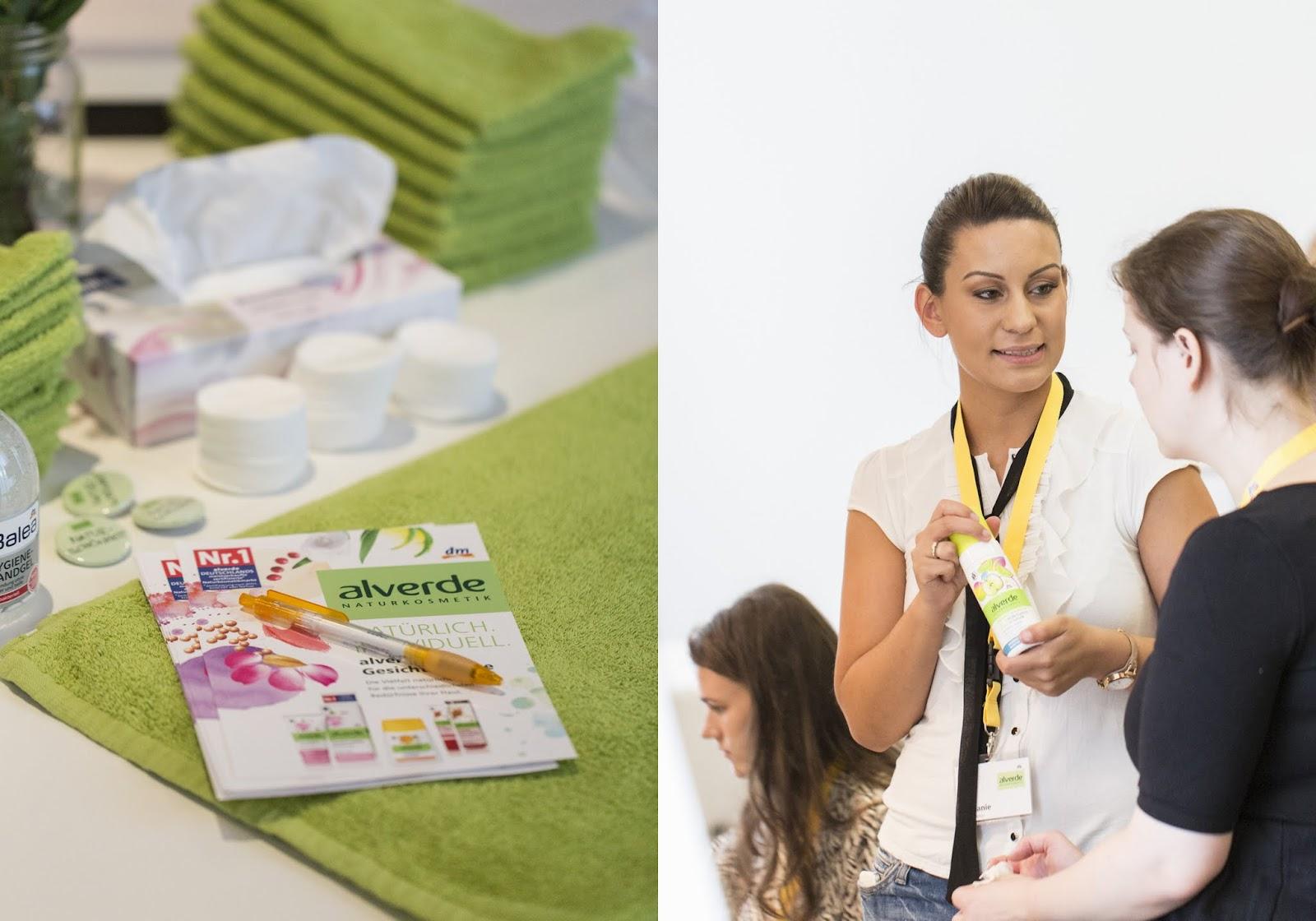 Alverde Beauty Werkstatt - Hautanalyse