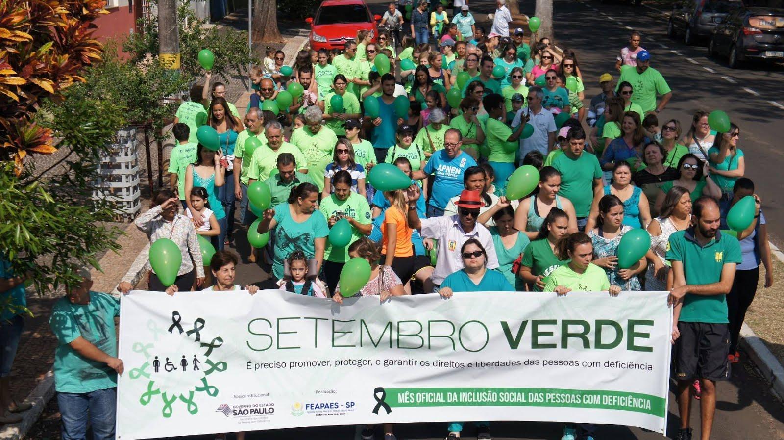 1ª Caminhada do Setembro Verde