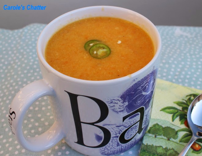 Carrot & Ginger Soup (Low FODMAP) by Carole's Chatter