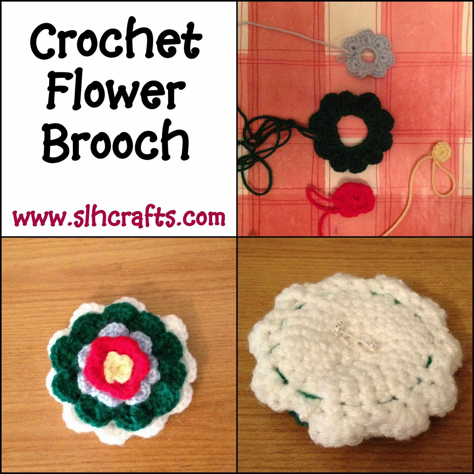 brooch pin crochet