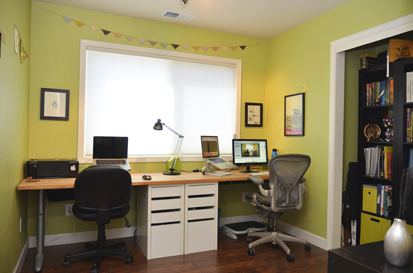 See That There Diy Office Desk
