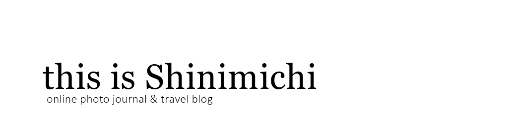 SHINIMICHI - A Visual Travel Journal