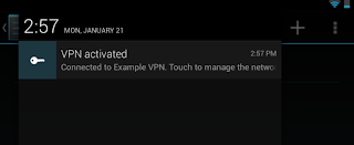 Always-On mode VPN