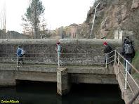 L'entrada de l'aigua al canal de Cal Vidal. Autor: Carlos Albacete