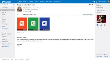 Outlook.com Surel Pribadi Versi Terbaru Microsoft