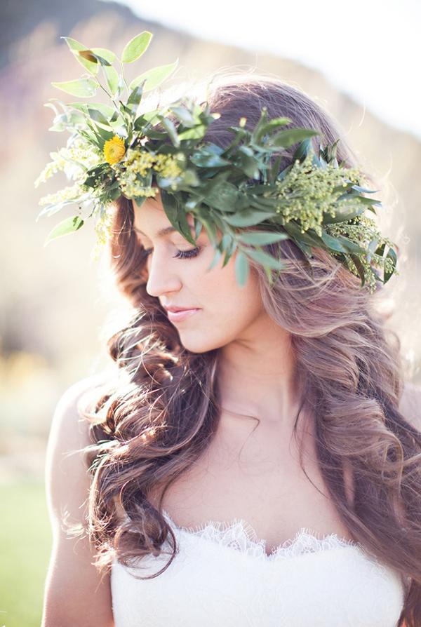 Bride In Dream Fascinating Bridal Floral Crown