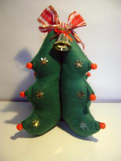 arvore de natal feltro