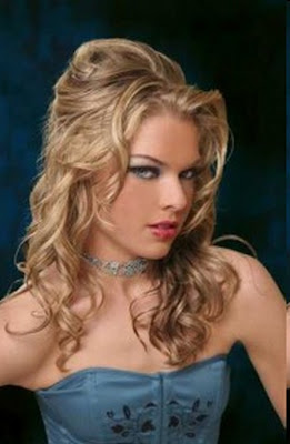 peinados magnficos para pelo largo ondulado para que luzcas grandiosa y especial en una fiesta si tienes el cabello ondulado natural podrs hacrtelo