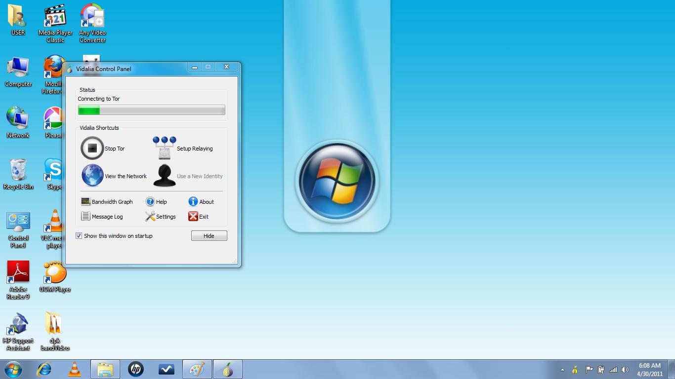 Open camira paltalk and skype msn