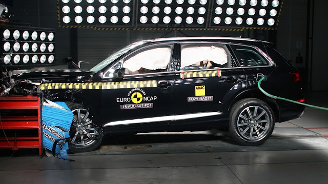 Audi Q7 4M crash test