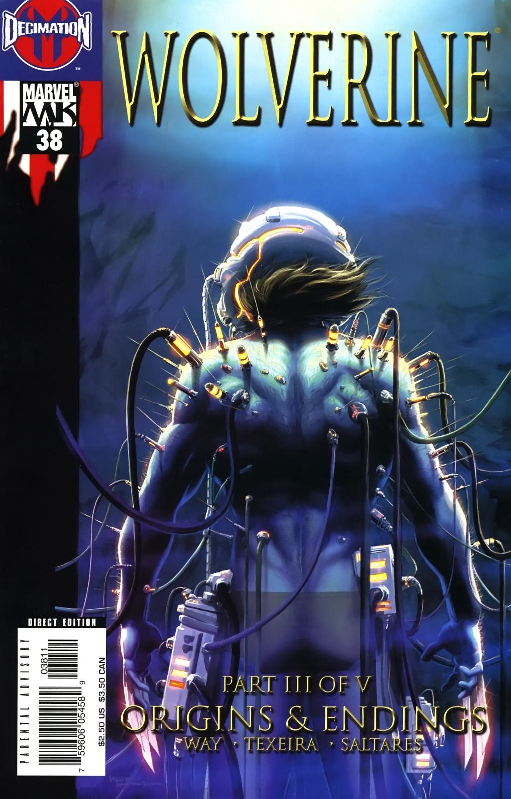 Read online Wolverine (2003) comic -  Issue #38 - 1