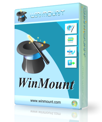 Winmount serial download tag
