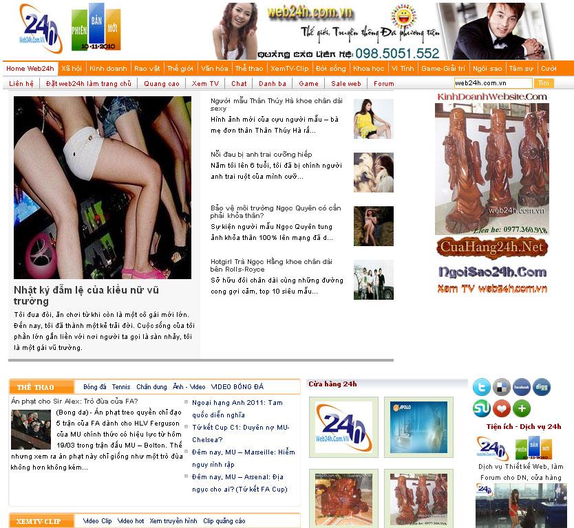 Thiet ke website thoi trang chuan SEO chuyen nghiep gia re nhat