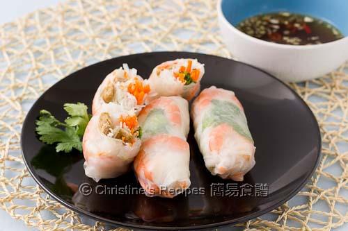 香茅豬肉米紙卷 Vietnamese Pork Rice Paper Rolls02