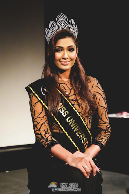 Sabrina Beneett (Miss Universe Malaysia 2014)