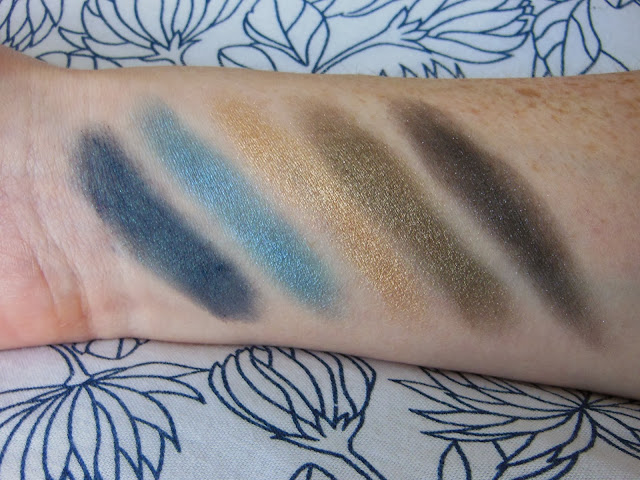 Urban Decay Vice 2 palette second row swatches