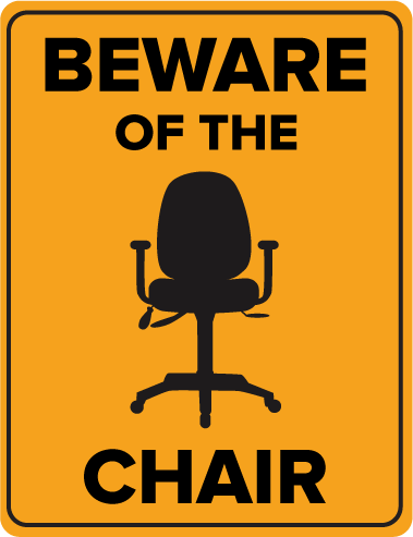 Beware The Chair: Common Problems Caused by Sitting
