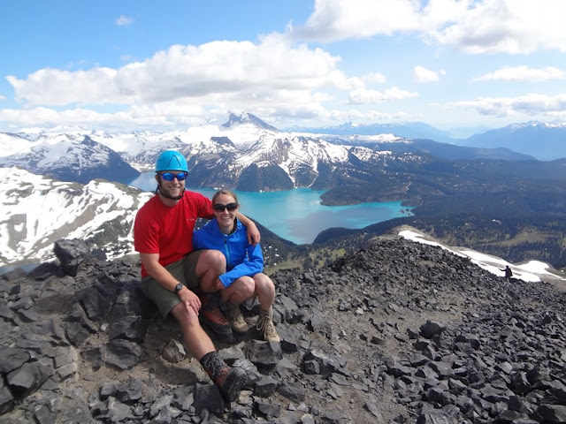 Photo at Black Tusk summit