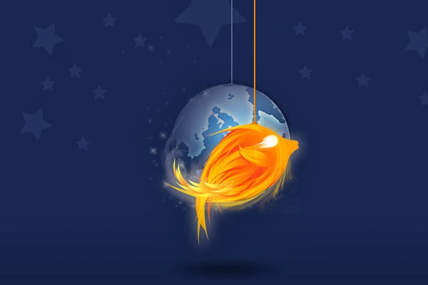 Fire fish Photoshop Tutorial