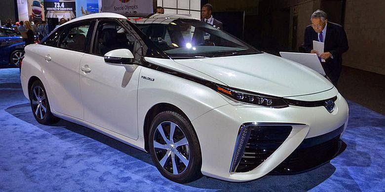 Gambar Mobil Toyota Mirai