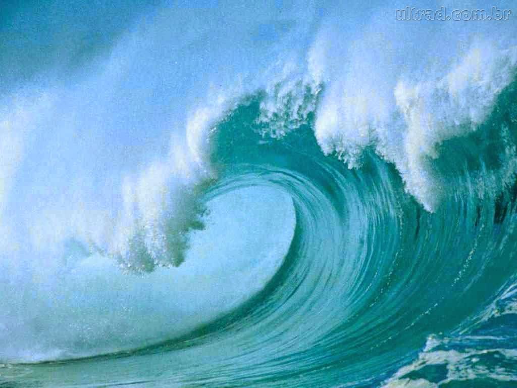 A divina proporção nas ondas do Mar!!!