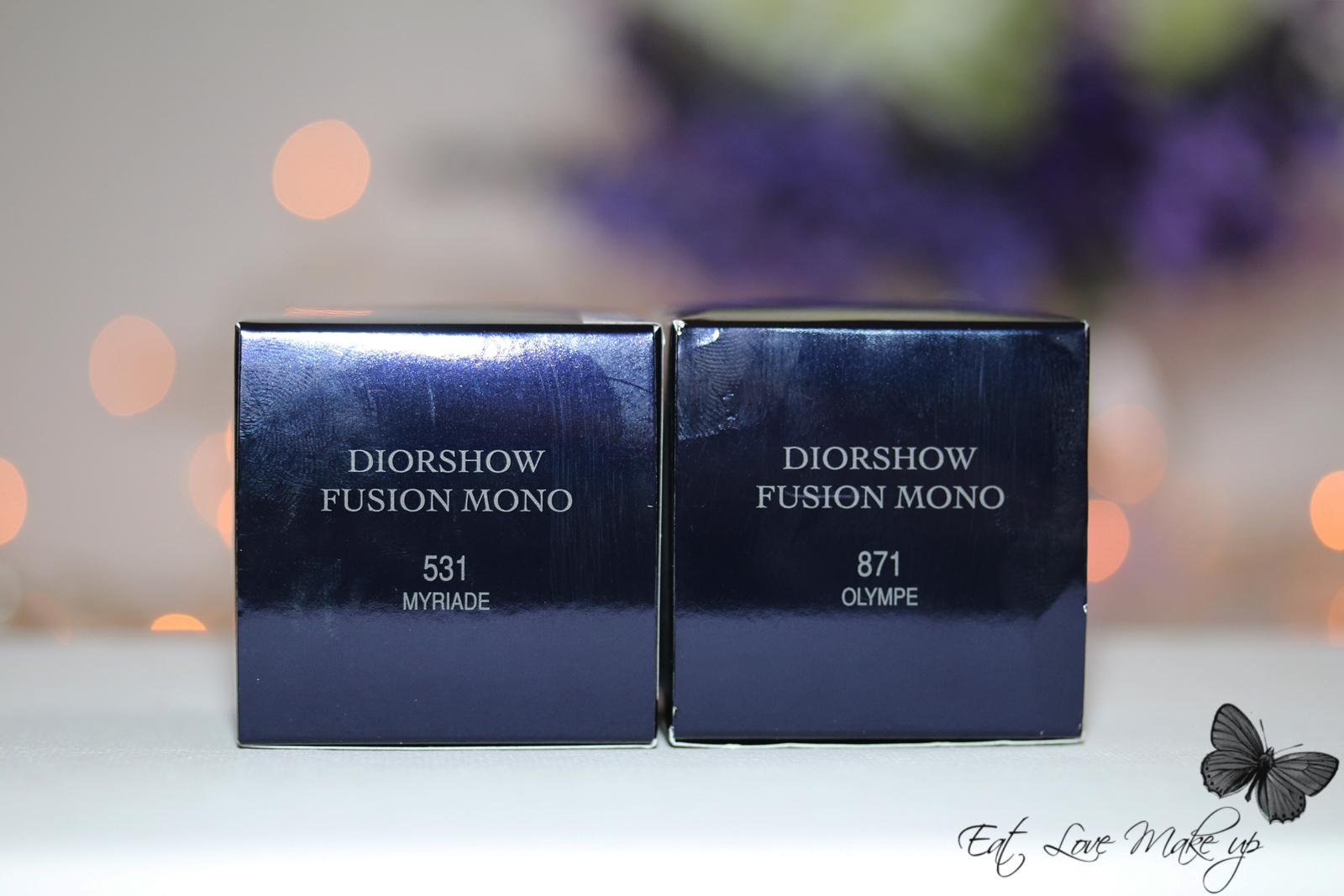 Dior Fusion Mono Eyeshadow 871 Olympe