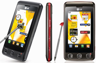 LG KP500 Cookie has 3.0 inch touchscreen with touch pen