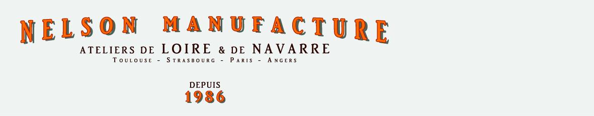 nelson - ateliers de Loire & de Navarre -