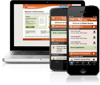 Register for Patient emisaccess.co.uk to Manage own Healthcare by Online Login