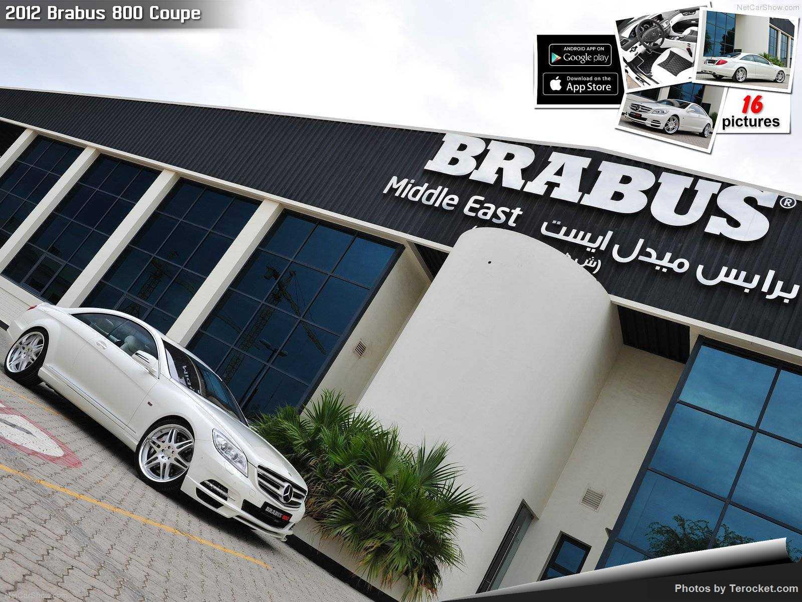 Hình ảnh xe ô tô Brabus 800 Coupe 2012 & nội ngoại thất