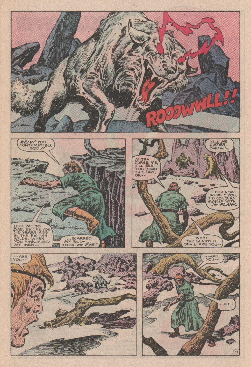 Conan the Barbarian (1970) Issue #178 #190 - English 10