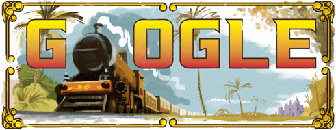 Google Doodle Celebrates First Passenger Train Journey in India