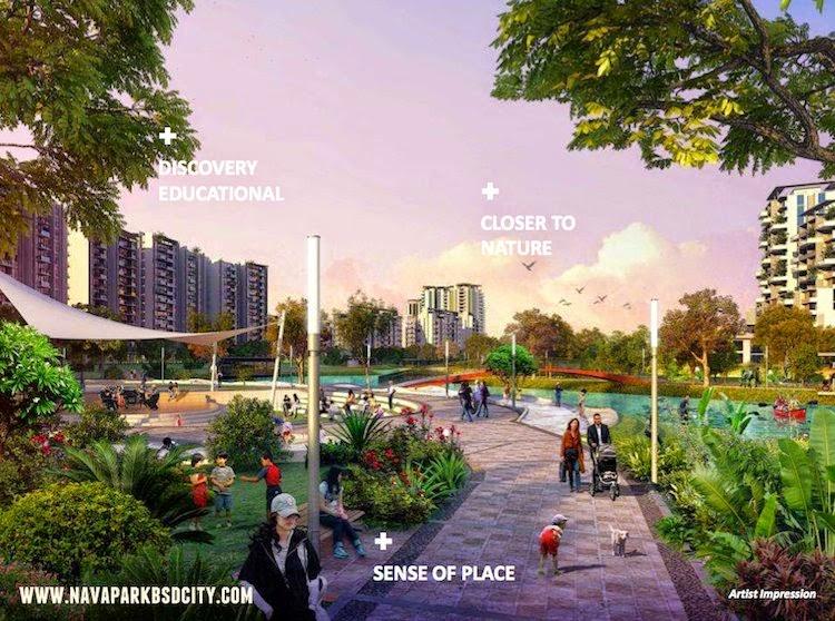 Nava Park BSD Green Path