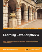 Learning JavaScriptMVC Book Cover