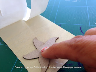 Using X-Press It Sticky Barc to cover Chipboard Elements