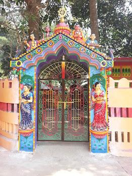 Bhajan mandap gate