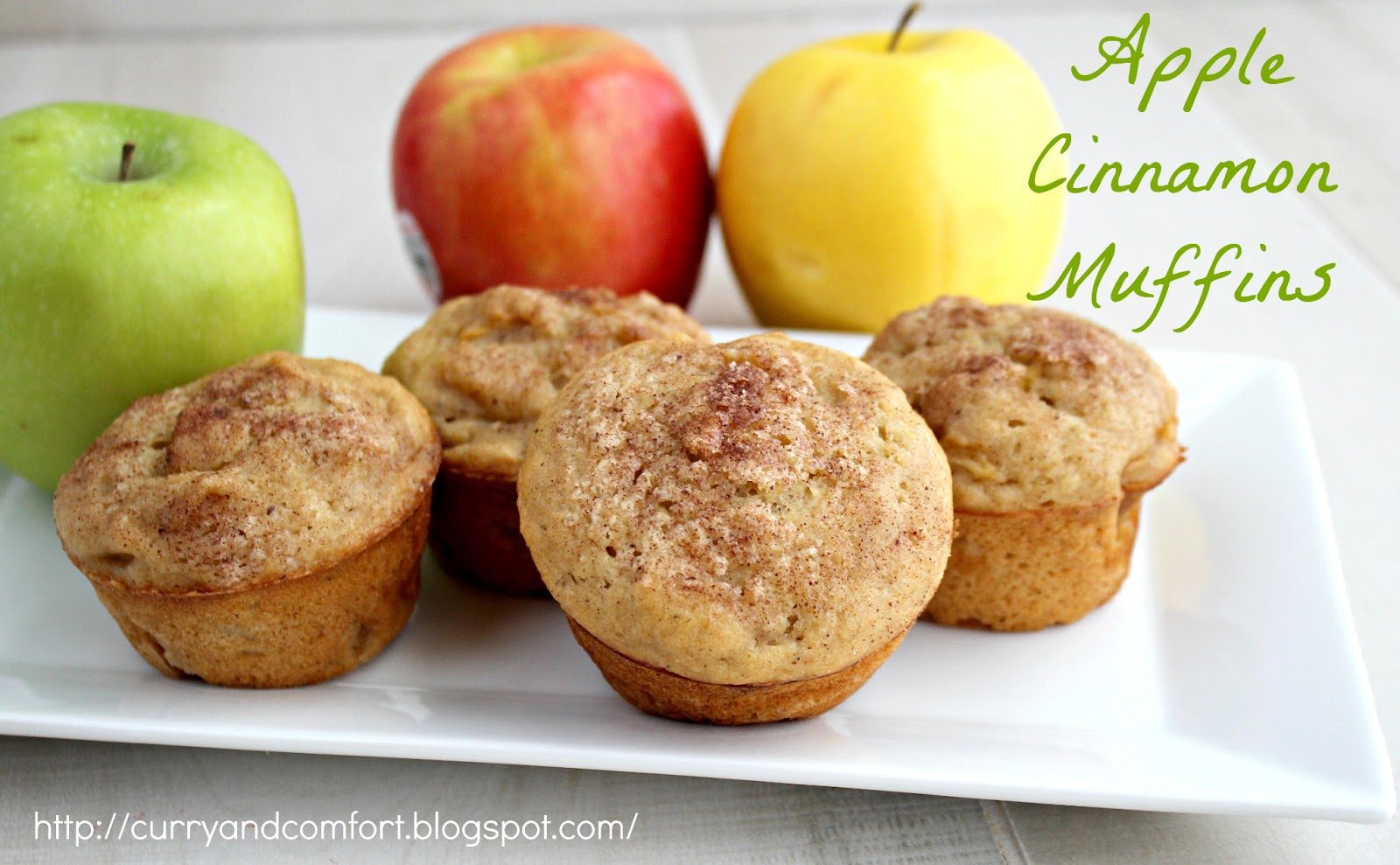 Curry and Comfort: Apple Cinnamon Muffins