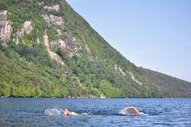 The Daily News Of Open Water Swimming Lake Willoughby Honored By