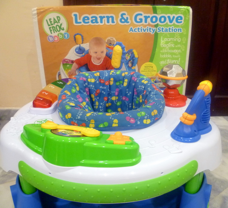leapfrog learn and groove activity station instructions