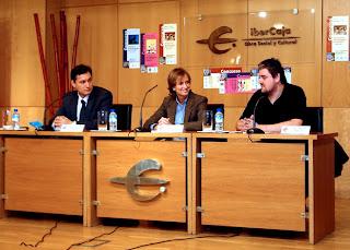 El XII Certamen de Cortometrajes del Festival Actual 2012 fue presentado en el Centro Ibercaja por el director general de Cultura, José Luis Pérez Pastor, y la directora del centro, Mayte Ciriza