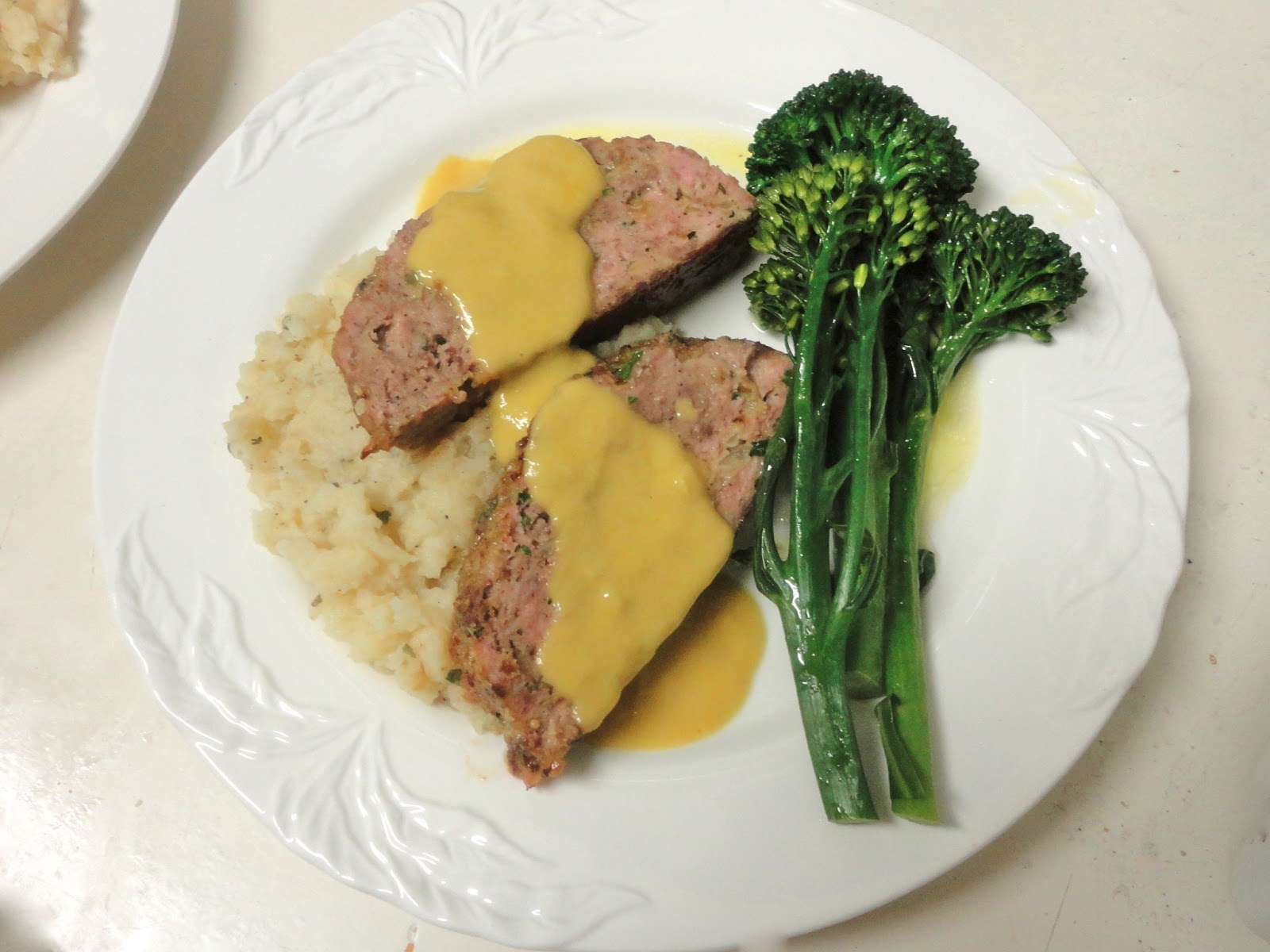 1770 House Meatloaf with Garlic Sauce from Ina Garten ...
